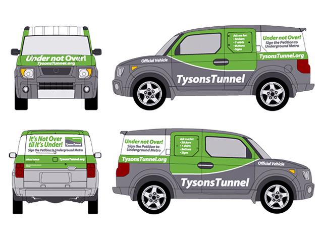 Tysons Tunnel - vehicle