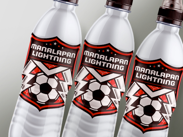 Manalapan Lightning Water Bottles