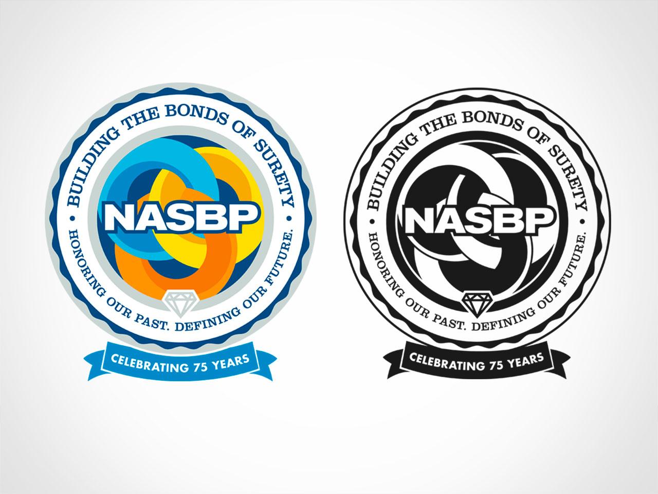 NASBP 75th Anniversary Logo