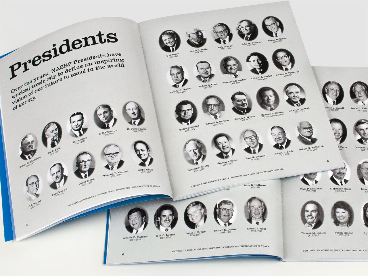 NASBP 75th Anniversary Brochure